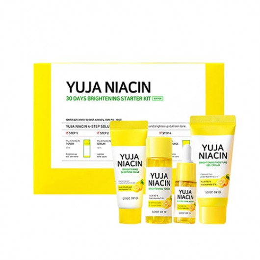 SOME BY MI Yuja Niacin 30 Days Brightening Starter Kit ISI 4