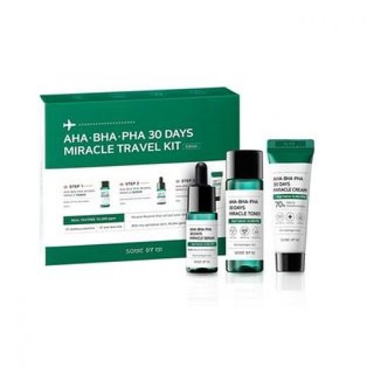 SOME BY MI - AHA, BHA, PHA 30 Days Miracle Travel Kit ISI 3