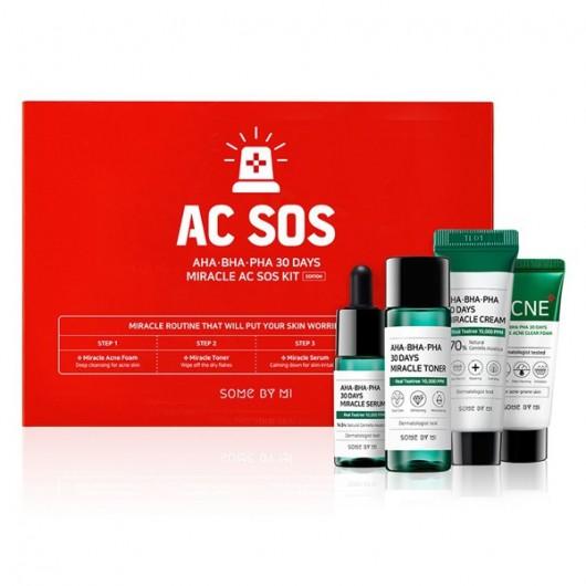 Some By Mi AHA BHA PHA 30 Days Miracle Ac SOS Kit