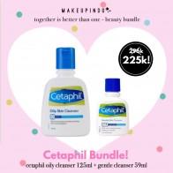 Beauty Bundle Cetaphil Oily 125ml + Gentle 59ml