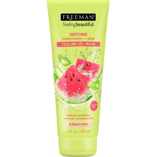 FREEMAN FEELING BEAUTIFUL Soothing Watermelon + Aloe Cooling Gel Mask