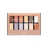 Nicka K Perfect Twelve 12 Eyeshadow Blushing Blossoms