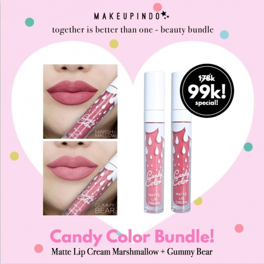 Beauty Bundle Candy Color Marshmallow + Gummy Bear