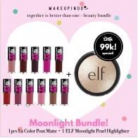 Beauty Bundle Elf baked highlighter + la color pout