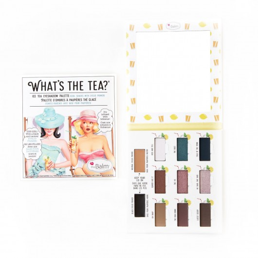THE BALM WHAT'S THE TEA?® EYESHADOW PALETTE ICE TEA