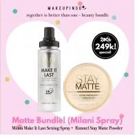 Beauty Bundle Milani Make It Last + Rimmel Stay Matte Powder