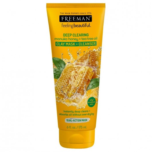Freeman Feeling Beautiful Deep Clearing  Manuka Honey + Tea Tree Oil
