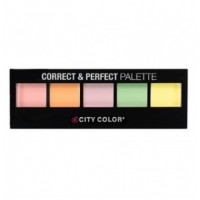 CITY COLOR Correct & Perfect Palette - 5 Shades