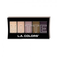 LA Colors 5 COLOR MATTE EYESHADOW PALETTE