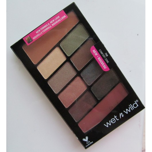 Wet N Wild New Comfort Zone Eyeshadow Palette NEW - NOUVEAU