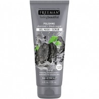 FREEMAN FEELING BEAUTIFUL Charcoal & Black Sugar Facial Polishing Mask