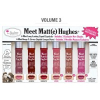 The Balm Meet Matte Hughes® Set of 6 Mini Long-Lasting Liquid Lipsticks Vol 3