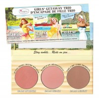 The Balm Girls Getaway Trio Long-Wearing Bronzer/Blush