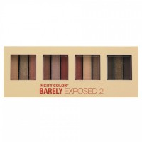 City Color Barely Exposed Eye Shadow Palette 2