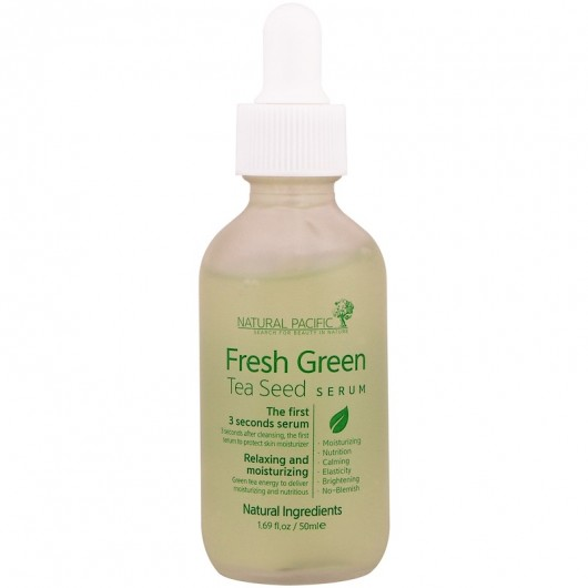 NACIFIC Natural Pacific Fresh Green Tea Seed Serum 1.69 fl oz (50 ml)
