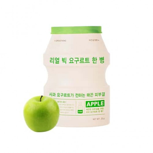APIEU REAL BIG YOGURT ONE-BOTTLE - APPLE
