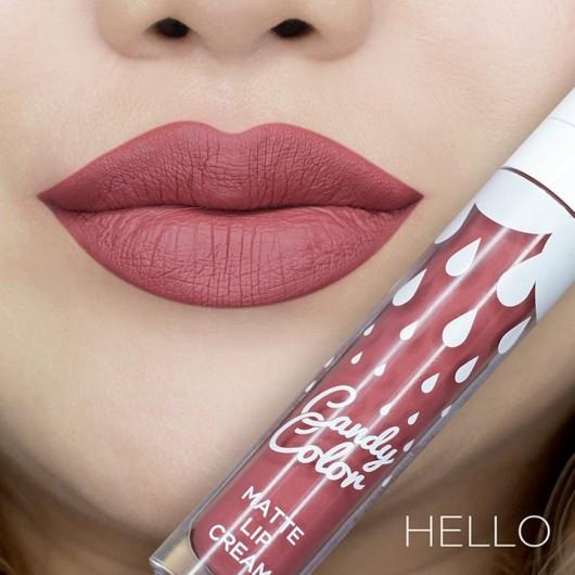Candy Color Matte Lip Cream Hello