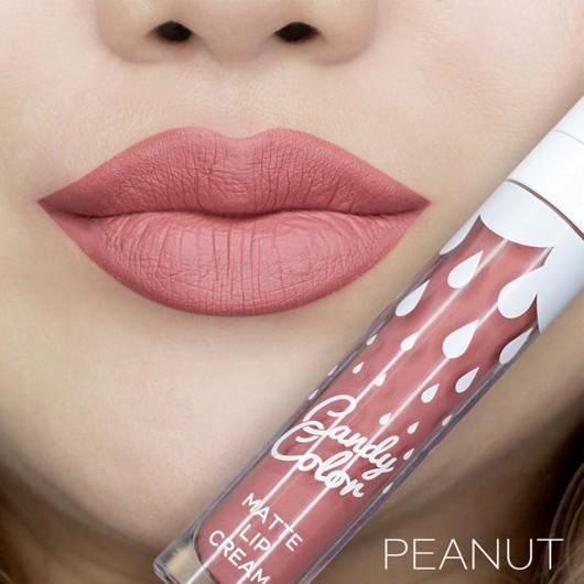 Candy Color Matte Lip Cream Peanut