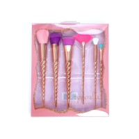 Beauty Creations 6pc Copperella Brush Set
