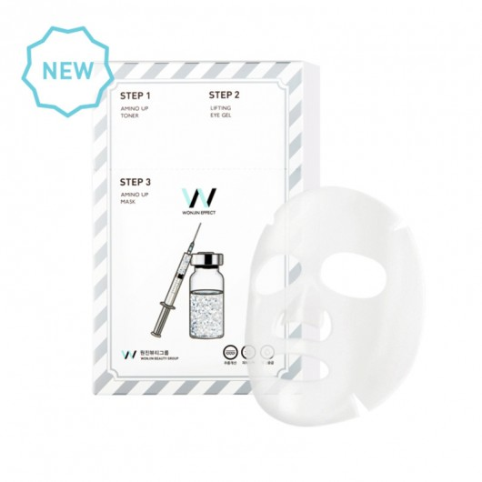 Wonjin Mask [Amino Up Mask] Lifting and Tone Up with Amino Acid and Collagen