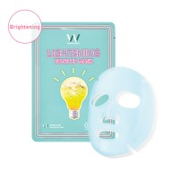 Wonjin Mask [Lightening Tone Up Mask] Radiant Skin like a Lightbulb