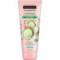 FREEMAN FEELING BEAUTIFUL Cucumber & Pink Salt Clay Mask