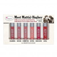 The Balm Meet Matte Hughes® Set of 6 Mini Long-Lasting Liquid Lipsticks Vol 1