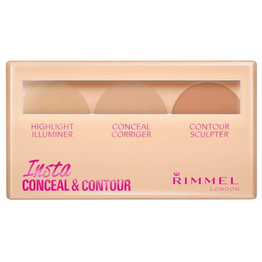 RIMMEL INSTA CONCEAL & CONTOUR PALETTE LIght
