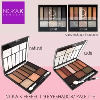 Nicka K Perfect 9 Colors Eyeshadow Palette