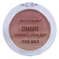 City Color Ombre Shimmer Highlighter - Rose Gold
