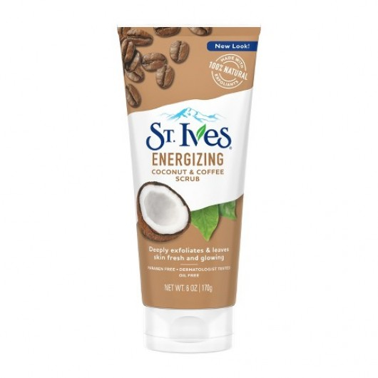 ST. IVES ENERGIZING COCONUT & COFFEE FACE SCRUB 170G