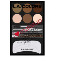 La Colors I Heart Makeup Brow Palette