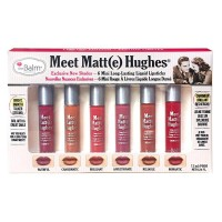 The Balm Meet Matte Hughes® Set of 6 Mini Long-Lasting Liquid Lipsticks Vol 2