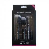 ARMANDO CARUSO 4 Pcs Brush Set - ACB 5004