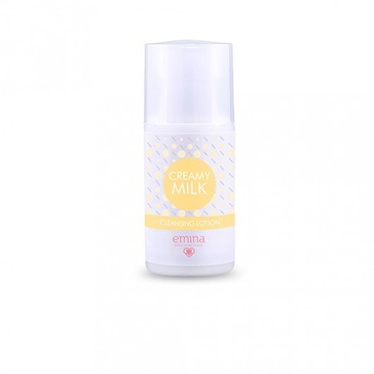 Emina Creamy Milk Cleansing Lotion Cleanser 50ml