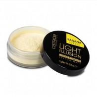 Catrice Light Illusion Loose Powder Yellow Matte