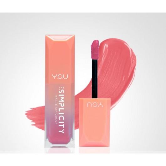 Y.O.U The Simplicity Matte Lip Color