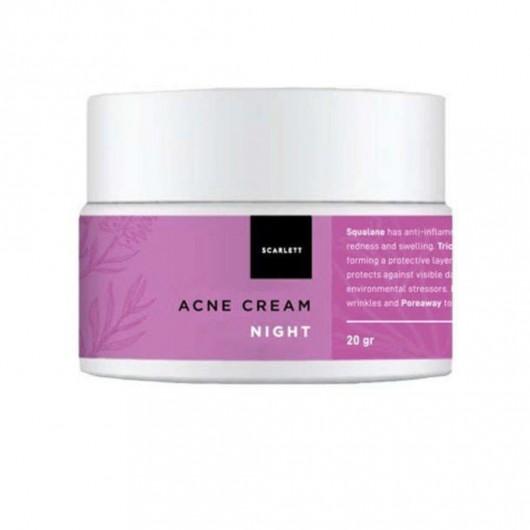 SCARLETT WHITENING  SCARLETT Acne Night Cream