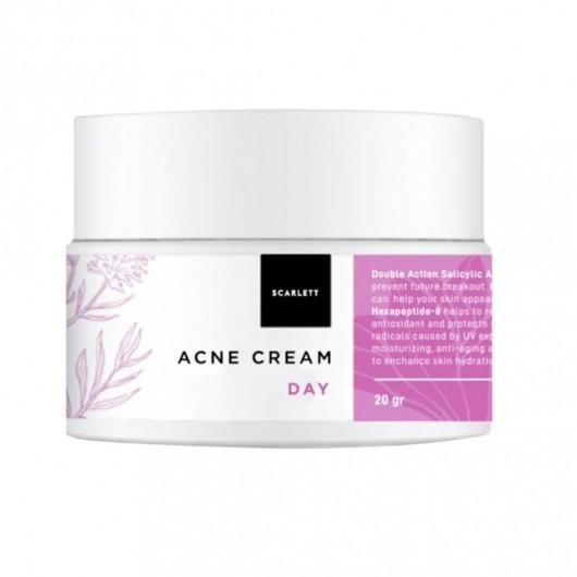 SCARLETT WHITENING  Acne Day Cream