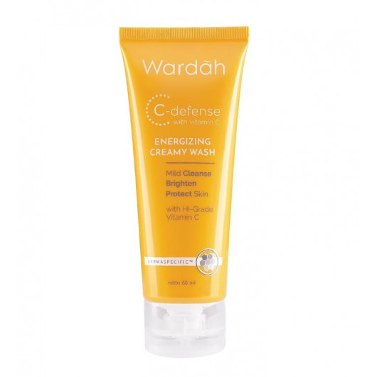 Wardah C-Defense Energizing Creamy Wash 60ml