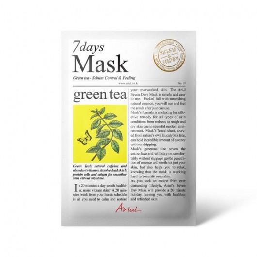 ARIUL  7days Mask - Green Tea