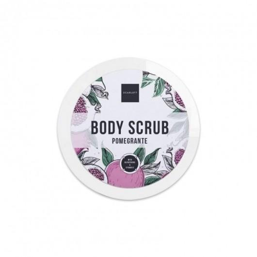 Scarlett Body Scrub Pomegrante