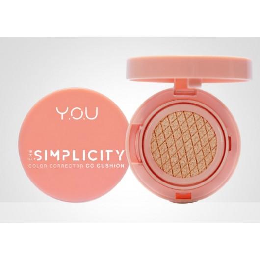 Y.O.U The Simplicity Color Corrector CC Cushion