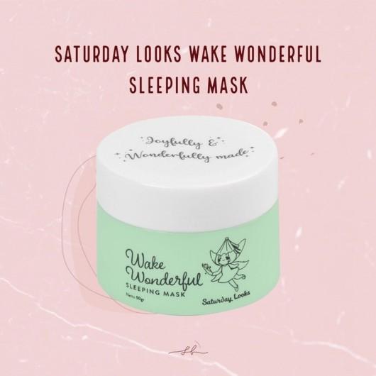 Saturday Looks Wake Wonderful Sleeping Mask 50g