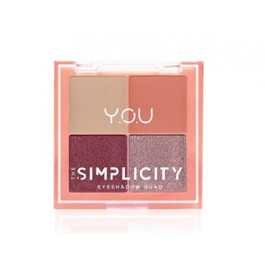Y.O.U The Simplicity Eyeshadow QuadX
