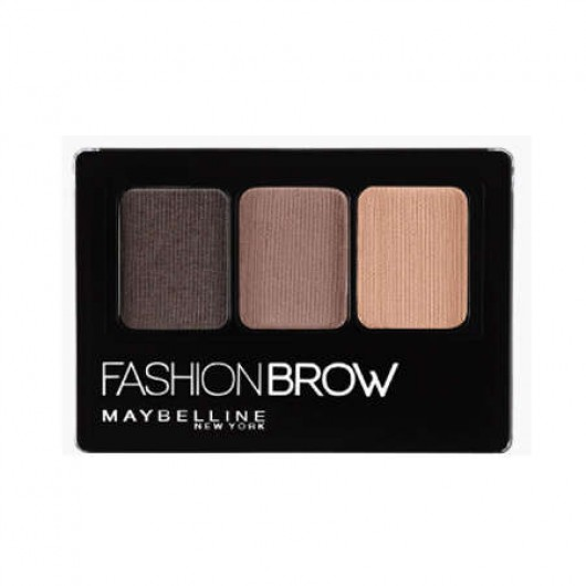 Maybelline Fashion Brow 3D Palette Dark Brown