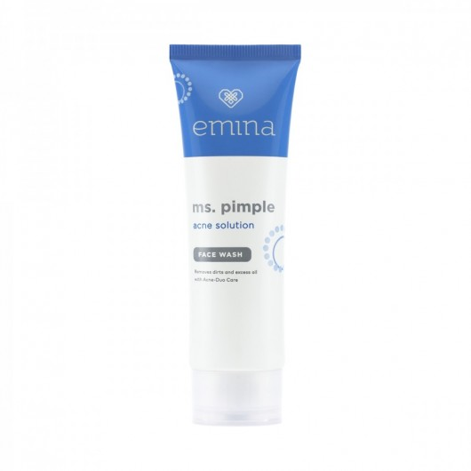Emina Ms Pimple Acne Solution Face Wash
