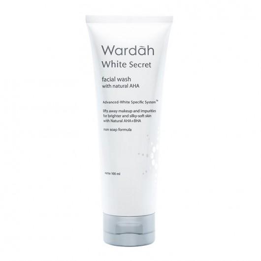 Wardah White Secret Facial Wash with Natural AHA