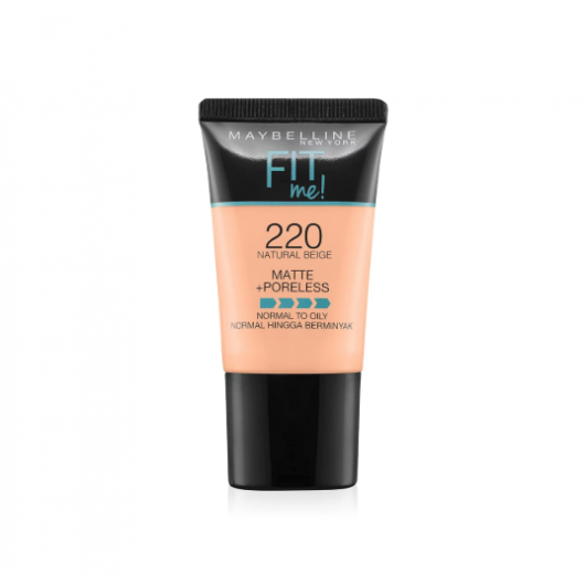 Maybelline Fit Me Matte+Poreless Foundation Tube