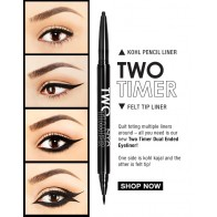 NYX Two Timer Dual Ended Eyeliner